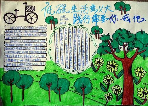 生态文明剪贴画小学生