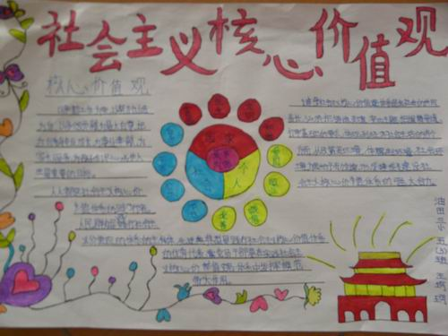 """让学生深刻理解以""""富强,民主,文明,和谐;自由,平等,公正,法治;爱国图片"""